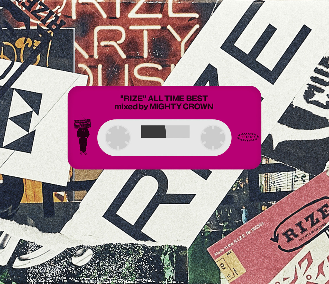 RIZE「ALL TIME BEST mixed by MIGHTY CROWN」完全生産限定盤