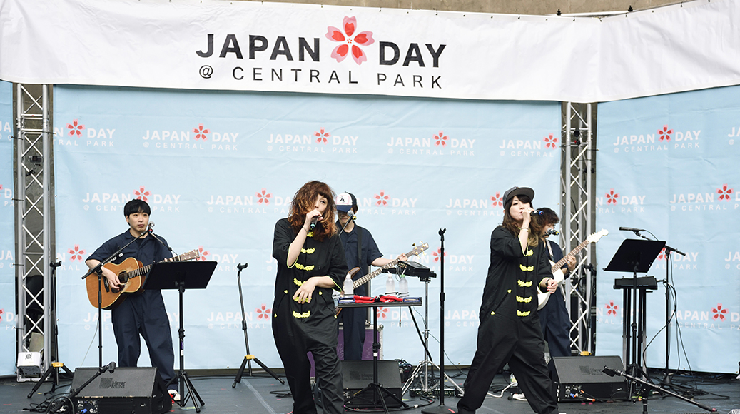 PUFFY「JAPAN DAY@CENTRAL PARK 2018」5月13日ニューヨーク・セントラルパーク