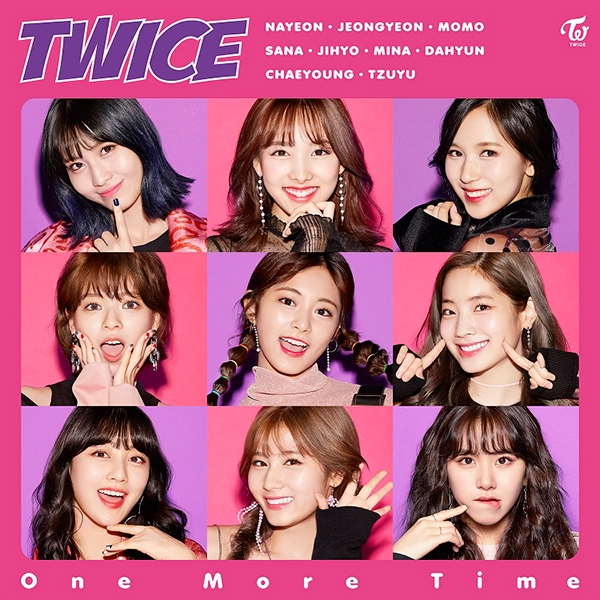 TWICE「One More Time」通常盤