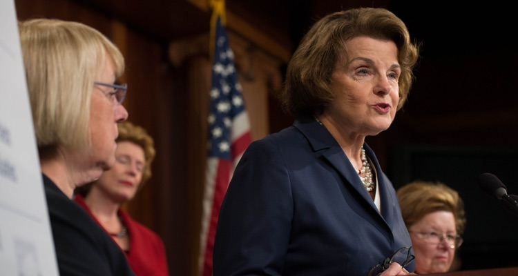Senator Dianne Feinstein (D-Calif.) (photo: Senate Democrats CC 2.0)