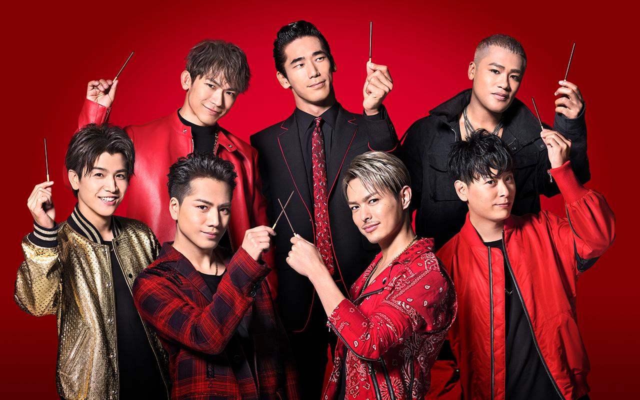 三代目 J Soul Brothersメンバーが勢揃いして撮影したポッキー新cm 本日よりオンエア Musicman