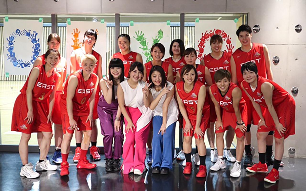 J☆Dee'Z、Wリーグ公式応援ソング「あと一歩」を3/7発売決定   Musicman