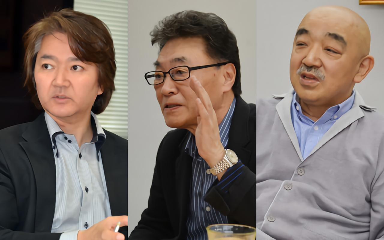 左から:大野祥孝氏、内沼映二氏、椎名和夫氏