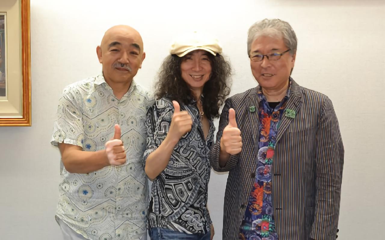 左から:椎名和夫氏、山本恭司氏、松武秀樹氏