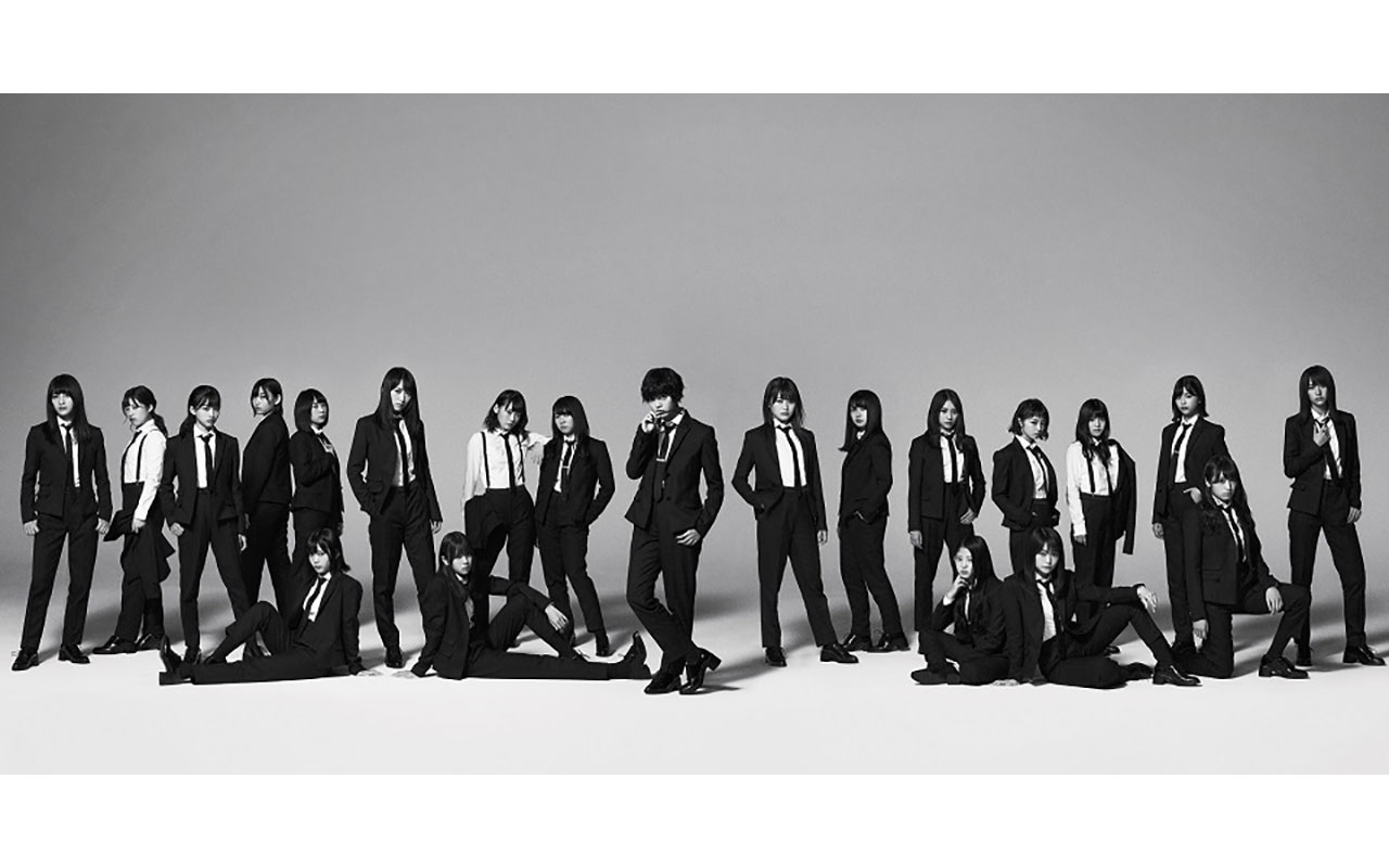 欅坂46 5thシングル タイトルは 風に吹かれても 黒のスーツに身