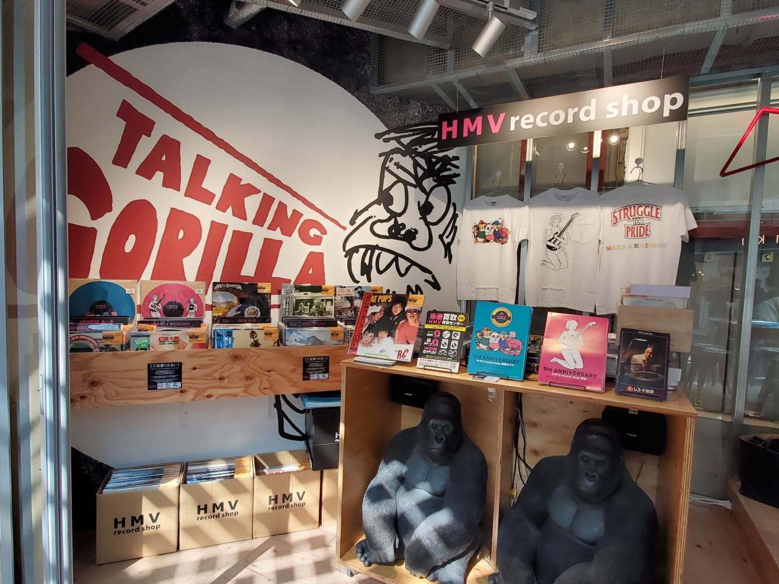 HMV record shop ポップアップショップ