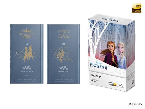 ウォークマン NW-A50シリーズ 「アナと雪の女王2」 Winter Collection