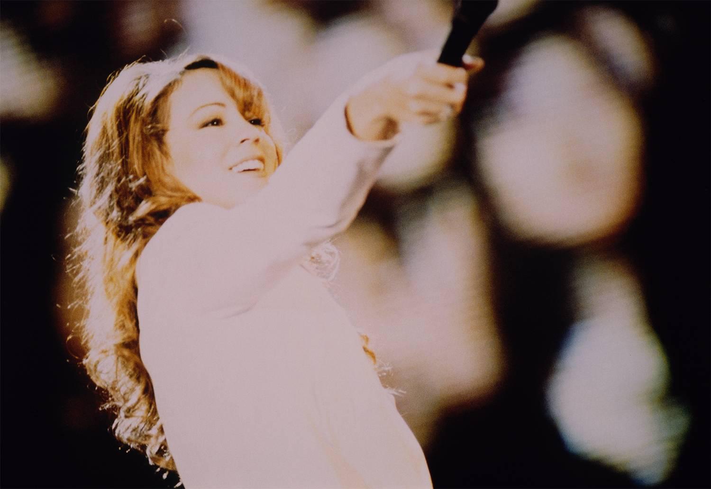 マライア・キャリー 1996年初来日公演ライヴ(C)Naoko Ogura