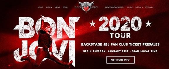 ボン・ジョヴィのニュー・アルバムと北米ツアー