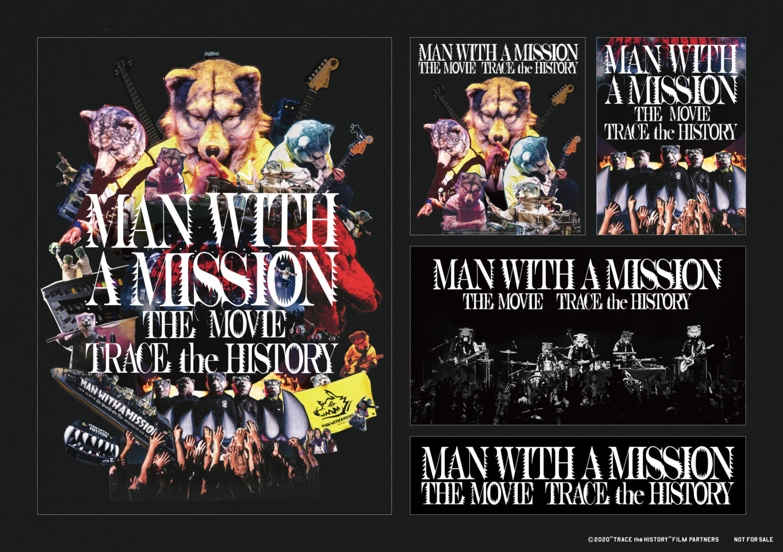 Man With A Mission 初ドキュメンタリー映画メインビジュアル