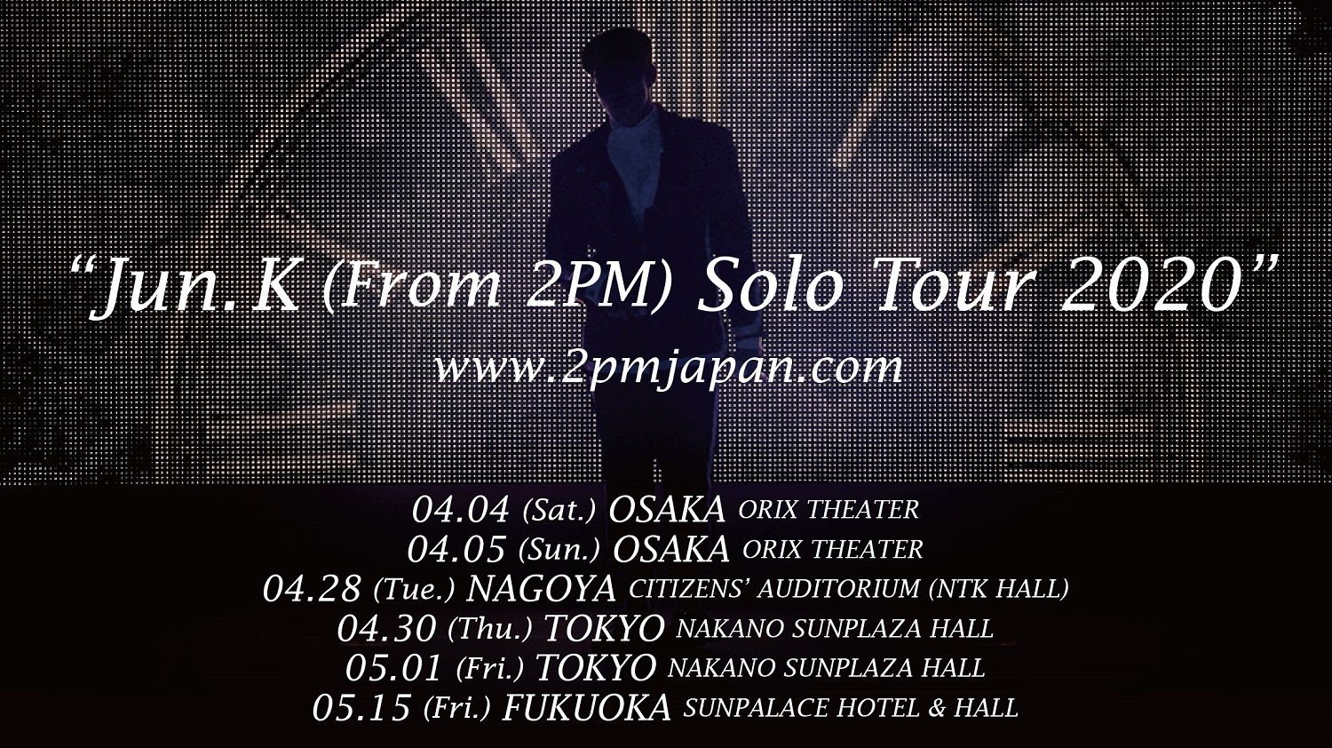 「Jun. K(From 2PM)Solo Tour 2020」