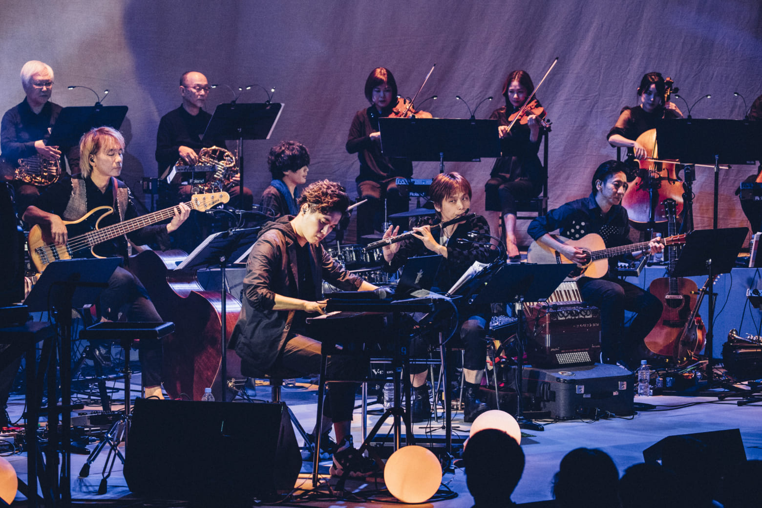 「林ゆうき 10th Anniversary Concert ~劇伴食堂 はやし屋~」Photo by 西槇太一