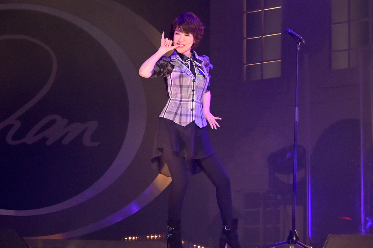 「伊藤 蘭コンサート・ツアー2020 ~My Bouquet & My Dear Candies!~」東京・新宿文化センター公演