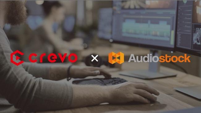 Audiostock、プロ動画クリエイターマッチングサービス「Crevo Jobs」との連携を開始