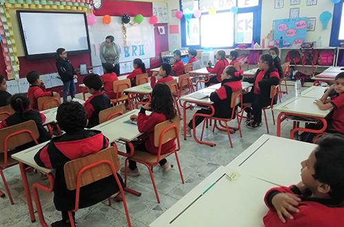 「エジプト・日本学校」の様子(写真提供:JICA)