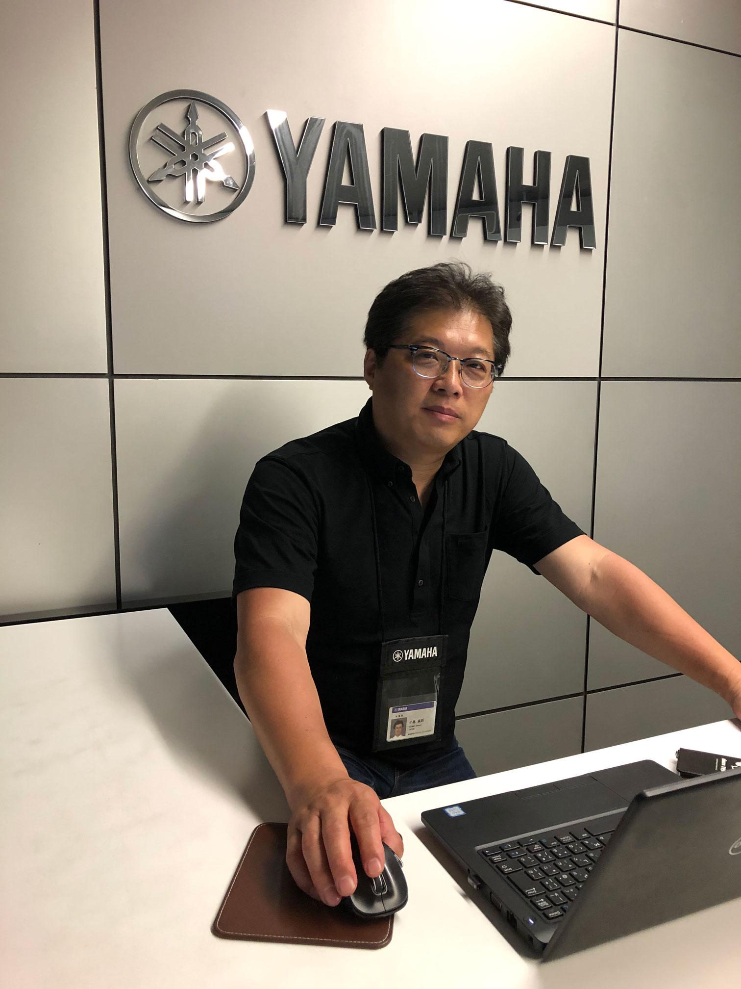 LM営業部 部長 兼 ARTマネジャー 小島高則氏
