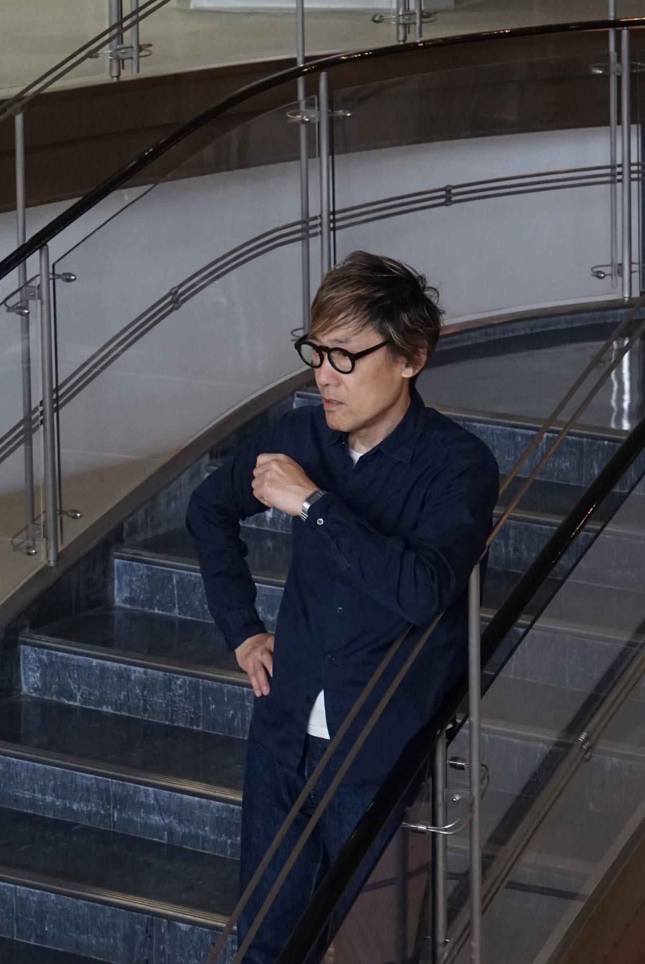 土橋安騎夫氏