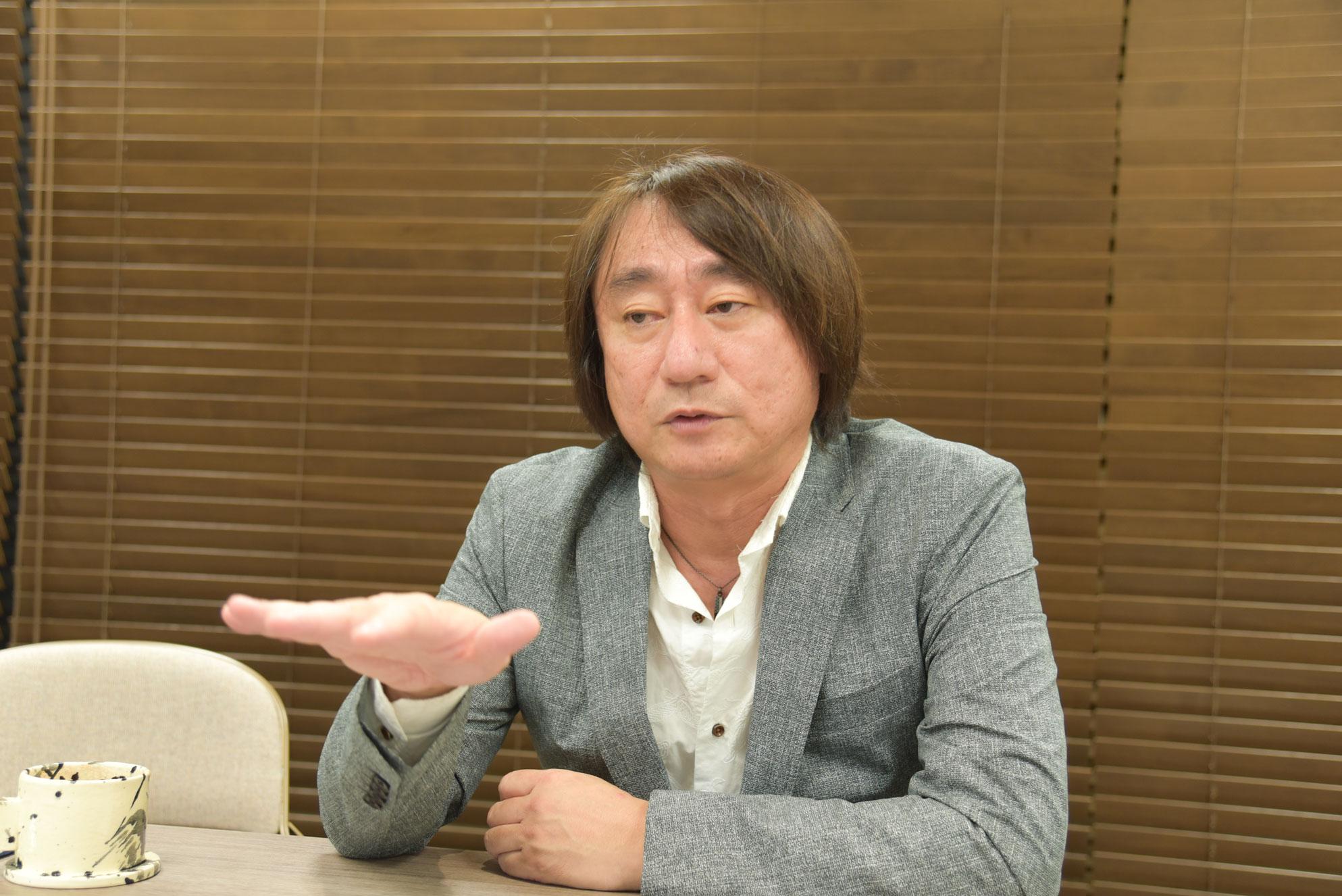 野村達矢氏