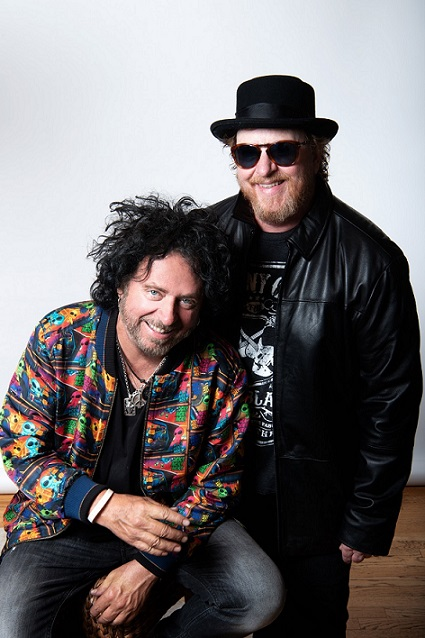 Steve Lukather & Joseph Williams. Photo by Alex Solca.