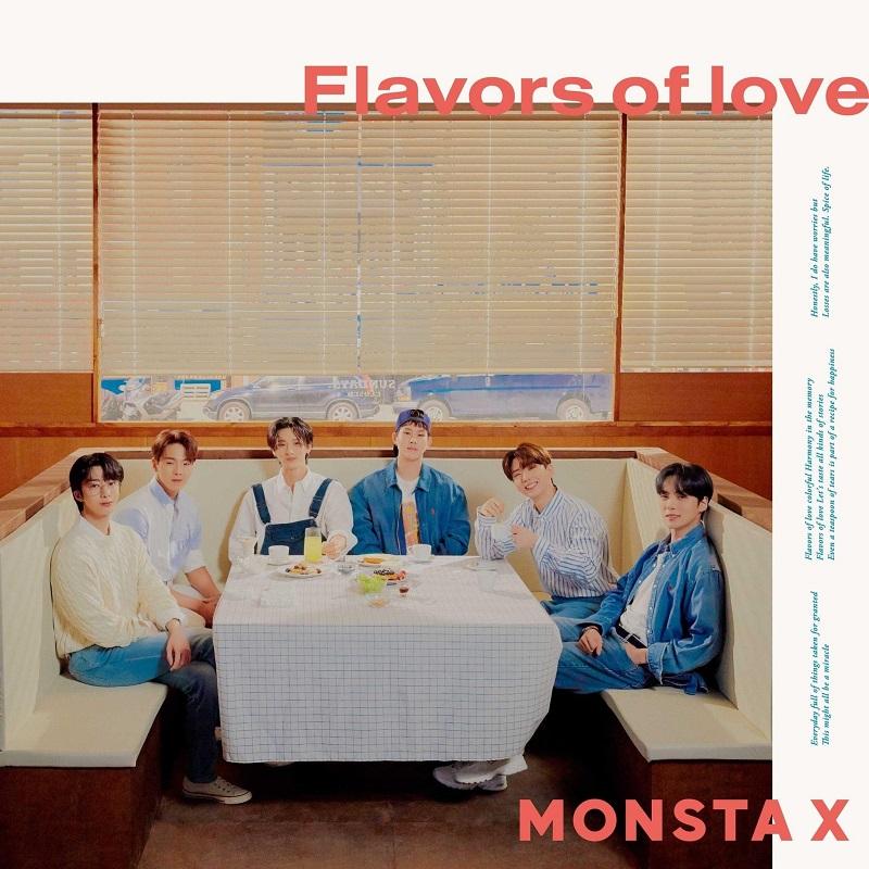 MONSTA X「Flavors of love」